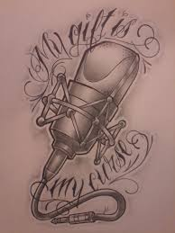 microphone tattoo tattoo collections