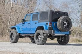 jeep wrangler 4 door blue jeep wheel to wheel nerf steps 07 17 jk wrangler 4 door