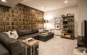 15 modern and contemporary living room basement designs home