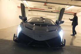 Lamborghini Veneno On Road - first and only lamborghini veneno in the u s arrives video