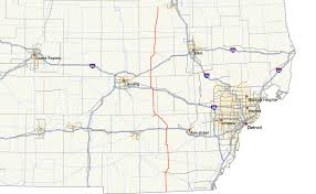 Google Map Michigan by M 52 Michigan Highway Wikipedia