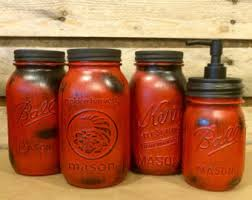 red canisters etsy