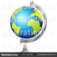 desk globe clipart 1344349 illustration by graphics rf