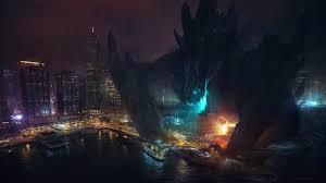 hong kong city nights hd wallpapers china cities concept art destruction hong kong bay kaiju monsters
