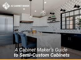 semi custom kitchen cabinet manufacturers a cabinet maker s guide to semi custom cabinets az cabinet
