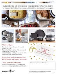 free gifts for wedding registry 9 best pered chef wedding registry images on