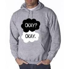 Hoodie Meme - new way 011 hoodie okay okay funny meme vine clouds sweatshirt