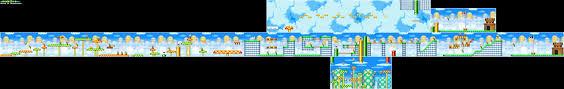 Super Mario World Map New Super Mario Bros Game Maps Ds