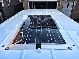 campervan solar panel installation richard mackney com how to