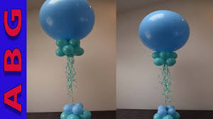 balloon centerpiece balloon decoration tutorial easy diy balloon centerpiece using 3