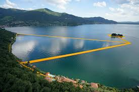 Floating Piers by This Floating Pier Is The Most Zen Installation Ever