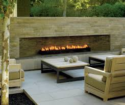 modern fireplace designs patio midcentury with water feature