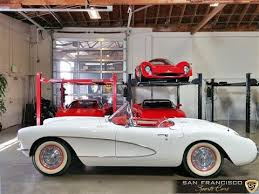 1956 corvette convertible 1956 chevy corvette convertible for sale in white and