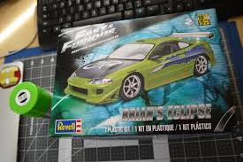 revell fast and furious brian u0027s mitsubishi eclipse supar robo