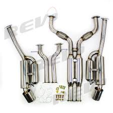 nissan 370z high flow cats rev9power nissan 370z vq37 dual catback exhaust with double