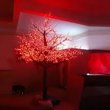 Led Lights For Outdoor Trees 2 5meter 1728leds Artifical 3color Changing Led Cherry