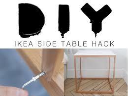 Ikea Ps 2012 Side Table Diy Ikea Side Table Hack Everyday Estée