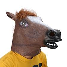 Horse Head Mask Meme - com leegoal novelty latex horse head mask gangnam style