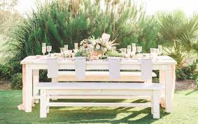 renting tables rentals rustic events