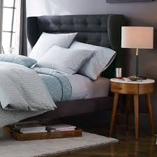 Small White Bedside Tables Bedroom Furniture Modern Nightstands Night Table Nightstand