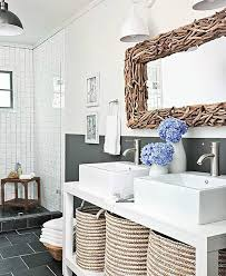 Decorative Bathroom Mirrors Coastal & Nautical Style