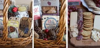 fruit and cheese gift baskets celebrating the holidays with wisconsin cheese