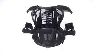 fox motocross chest protector fox airframe chest protector black white 360 youtube