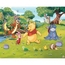 kids wall art next day delivery kids wall art from worldstores walltastic disney winnie the pooh mural 8ft x 10ft sticker