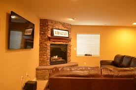 basement finishing ideas how much does a fireplace cost