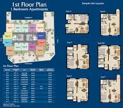 Business Floor Plans by Mayfair Residence Floor Plans Business Bay Dubai