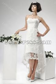 civil wedding dress lace high low civil wedding dresses 1st dress