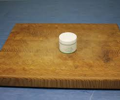 finish a cutting board with beeswax 3 steps with pictures