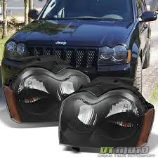 2007 jeep grand grille black 2005 2006 2007 jeep grand replacement headlights