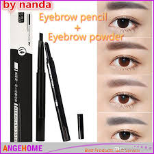 Best Eyebrow Wax Pencil 2016 New Color Painting Eyebrow Pencil 2 In 1 Waterproof Brown Eye