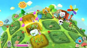 baby panda u0027s flower garden panda games babybus android gameplay