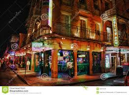 Bourbon Street New Orleans Map by Bourbon Street New Orleans Jester U0027s Bar Editorial Stock Image
