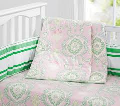 claudia medallion quilt bright green pottery barn kids