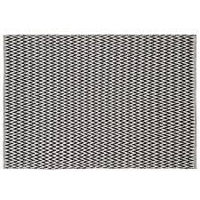 colours haillie black u0026 white chevron rug l 1 7m w 1 2 m
