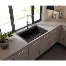 home depot kitchen sink vanity glacier bay glacier bay drop in undermount granite composite