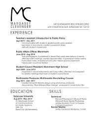 Education Section Of Resume Example Education Section On Resume In Progress