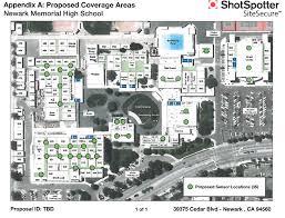 Uri Campus Map Newark Memorial High Gets Shotspotter Securecampus For Free