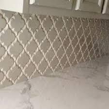 Arabesque Backsplash Tile by Perfect Kitchen Backsplash Stone Mosaic Tile Kitchen Backsplash