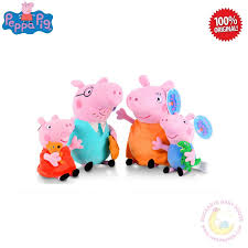 Peppa Pig Plush Peppa Pig Plush Family Of 4 End 8 21 2020 5 13 Pm