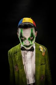 Mens Clown Halloween Costumes Apply Evil Clown Makeup Mugeek Vidalondon