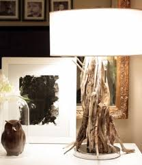 easy to make driftwood table lamps completely coastal