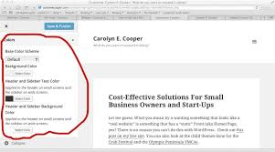 how to make changes to or modify your wordpress theme carolyn e
