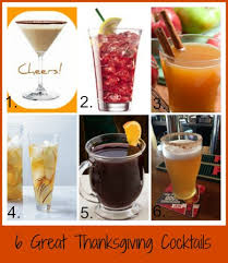 great cocktails for thanksgiving our favorite drink recipes