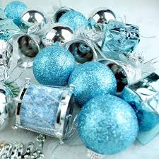 32pcs ornaments balls drums baubles tree pendant