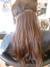 balmain hair extensions application of balmain fill in extensions balmain hair