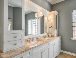 Most Noticeable White Bathroom Cabinet Interior Design - American bathroom designs